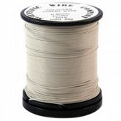 Ivory wire 0.315mm (28 gauge) 35 gram Craft Wire Reel